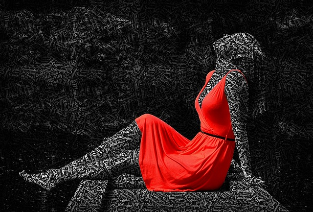 kolor czerwony w modzie, Kolor czerwony w modzie – Lady in Red
