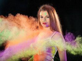neonowe kolory